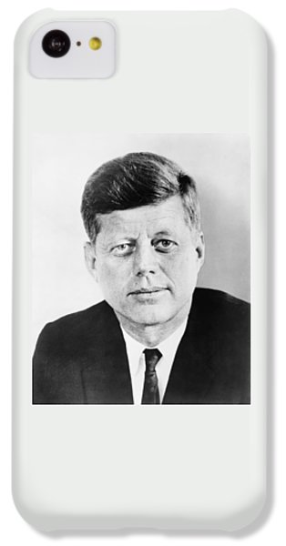 Pig iPhone 5c Case - President John F. Kennedy by War Is Hell Store