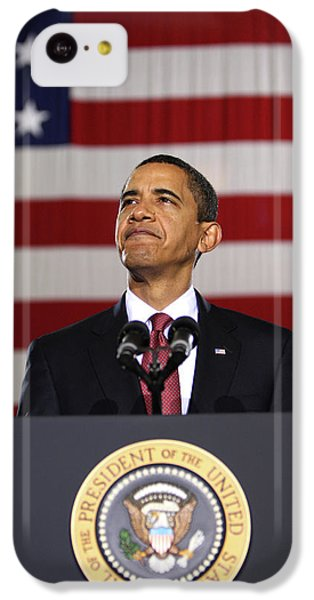 President Obama IPhone 5c Case by War Is Hell Store