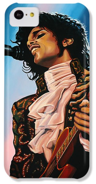 The iPhone 5c Case - Prince Painting by Paul Meijering