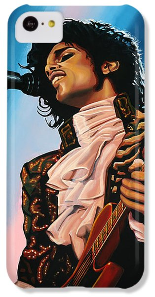 Rhythm And Blues iPhone 5c Case - Prince Painting by Paul Meijering