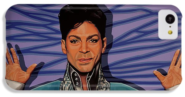Rhythm And Blues iPhone 5c Case - Prince 2 by Paul Meijering