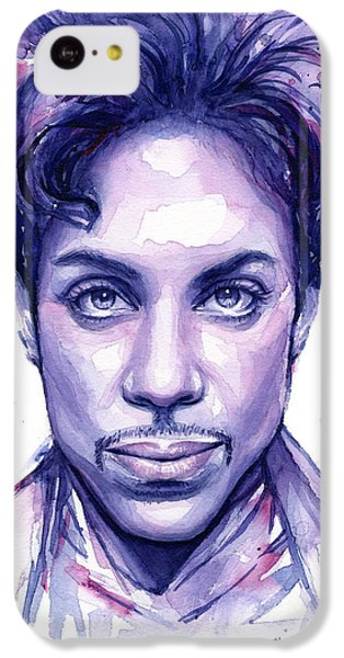 Prince Purple Watercolor IPhone 5c Case
