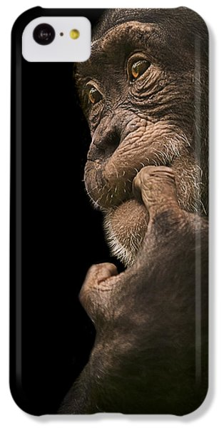 Chimpanzee iPhone 5c Case - Promiscuous Girl by Paul Neville