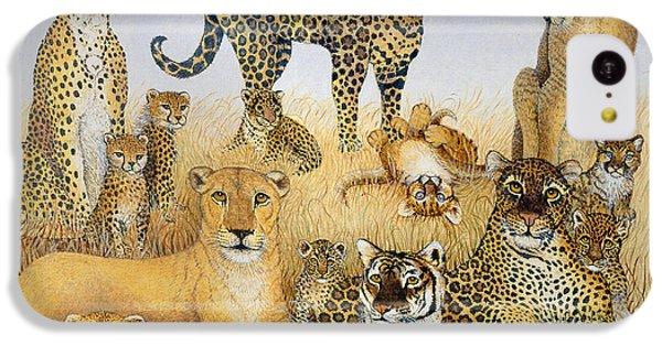 The Big Cats IPhone 5c Case by Pat Scott