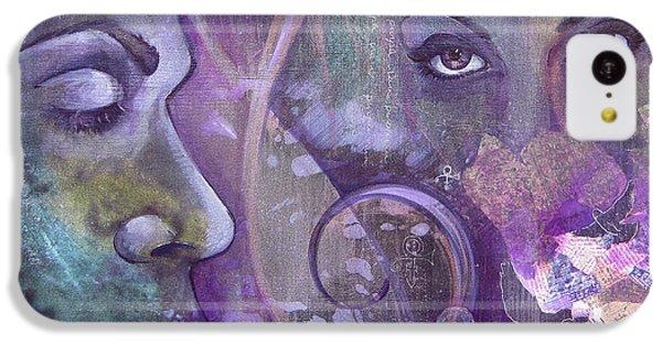 Dove iPhone 5c Case - Purple Rain by Shadia Derbyshire