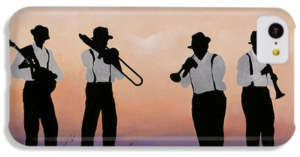 Jazz iPhone 5c Case - Quattro by Guido Borelli