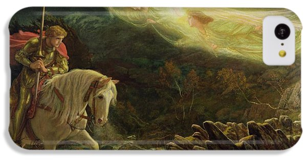 Quest For The Holy Grail IPhone 5c Case by Arthur Hughes