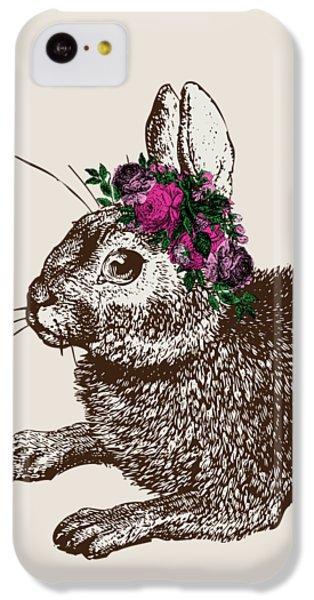 Rabbit And Roses IPhone 5c Case