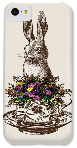 Rabbit In A Teacup IPhone 5c Case