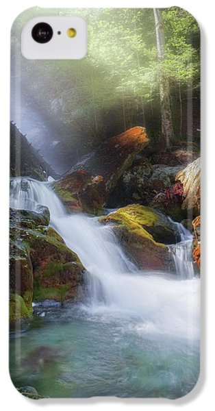 IPhone 5c Case featuring the photograph Race Brook Falls 2017 by Bill Wakeley