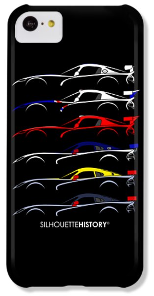 Racing Snake Silhouettehistory IPhone 5c Case