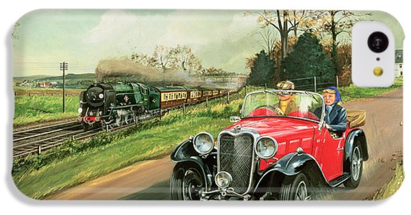 Racing The Train IPhone 5c Case by Richard Wheatland