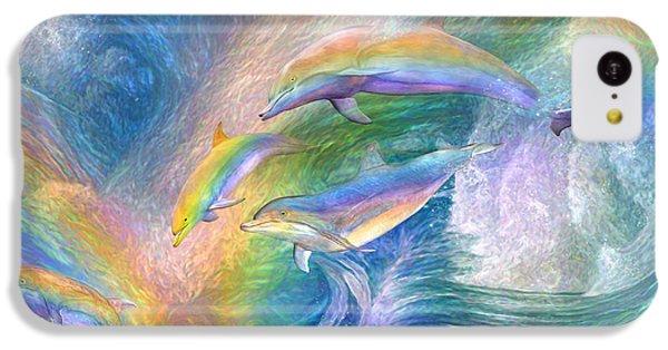 Rainbow Dolphins IPhone 5c Case