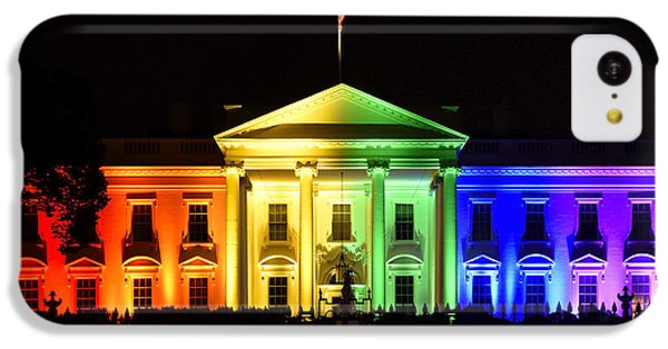 Rainbow White House  - Washington Dc IPhone 5c Case