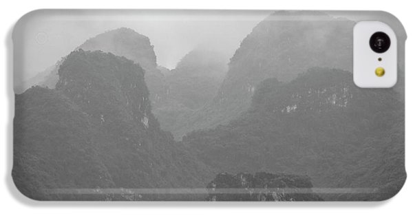 IPhone 5c Case featuring the photograph Rainy Ha Long Bay, Ha Long, 2014 by Hitendra SINKAR
