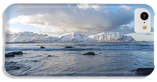 Ramberg Beach, Lofoten Nordland IPhone 5c Case by Dubi Roman