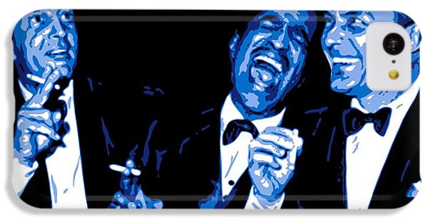 Frank Sinatra iPhone 5c Case - Rat Pack At Carnegie Hall by DB Artist