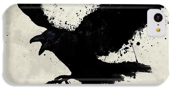 Raven iPhone 5c Case - Raven by Nicklas Gustafsson