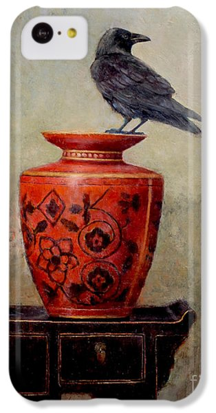 Raven On Red  IPhone 5c Case