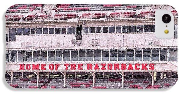 Razorback Stadium IPhone 5c Case by JC Findley
