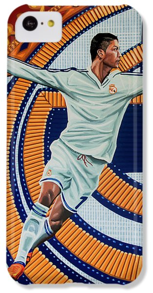 Real Madrid Painting IPhone 5c Case by Paul Meijering