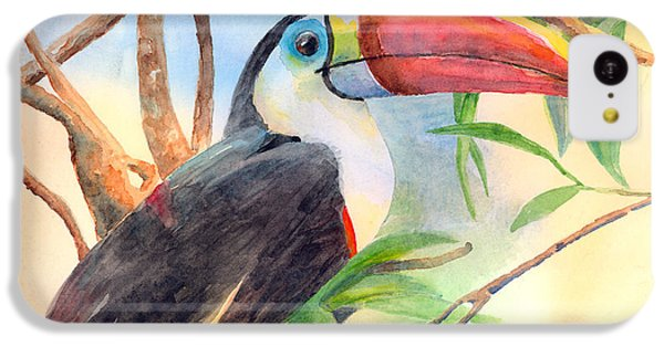 Red-billed Toucan IPhone 5c Case by Arline Wagner