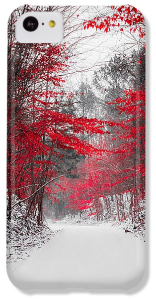 Red Blossoms  IPhone 5c Case