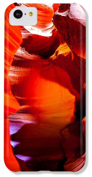 Featured Images iPhone 5c Case - Red Canyon Walls by Az Jackson