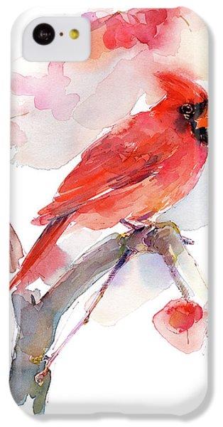 Red Cardinal IPhone 5c Case