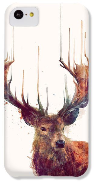 Red Deer IPhone 5c Case by Amy Hamilton