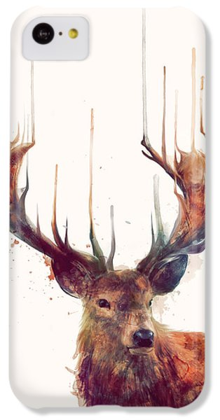 Animals iPhone 5c Case - Red Deer by Amy Hamilton
