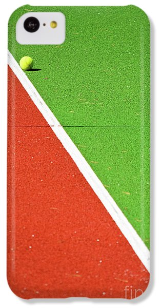 Red Green White Line And Tennis Ball IPhone 5c Case
