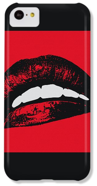 Red Lips IPhone 5c Case