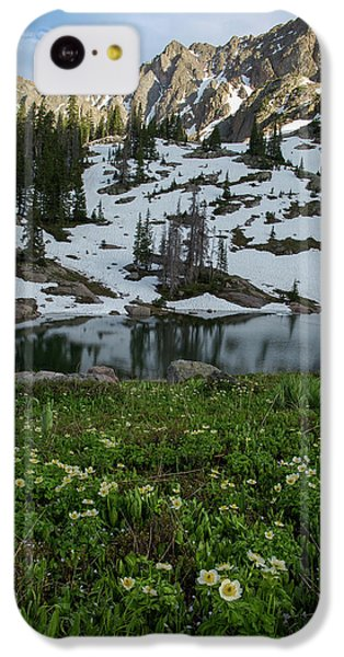 IPhone 5c Case featuring the photograph Red Peak And Willow Lake by Aaron Spong