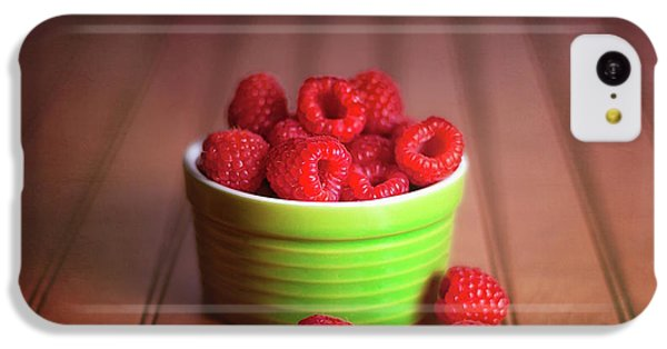 Red Raspberries Still Life IPhone 5c Case by Tom Mc Nemar