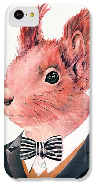 Red Squirrel IPhone 5c Case by Animal Crew