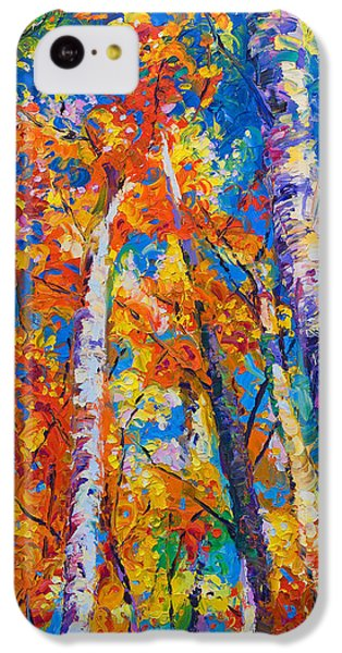 Redemption - Fall Birch And Aspen IPhone 5c Case