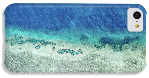 Helicopter iPhone 5c Case - Reef Barrier by Az Jackson
