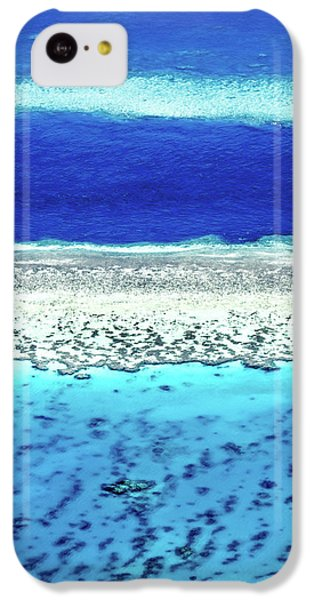 Helicopter iPhone 5c Case - Reefs Edge by Az Jackson