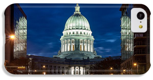 Capitol Building iPhone 5c Case - Reflection Surrounded by Todd Klassy