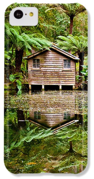 Featured Images iPhone 5c Case - Reflections On The Pond by Az Jackson