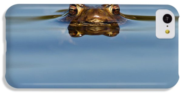 Reflections - Toad In A Lake IPhone 5c Case by Roeselien Raimond