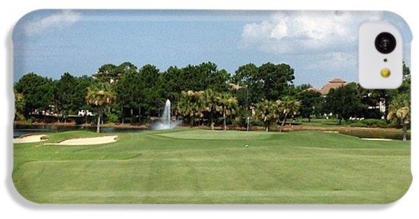 Sport iPhone 5c Case - Regatta Bay #golf #instagramers by Scott Pellegrin