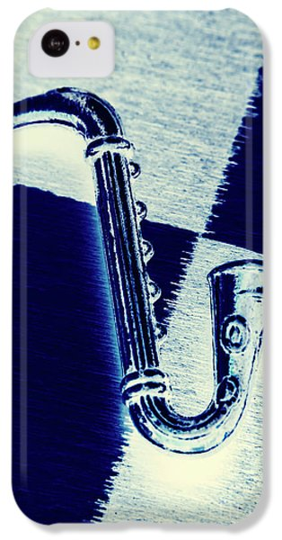Saxophone iPhone 5c Case - Retro Blues by Jorgo Photography - Wall Art Gallery