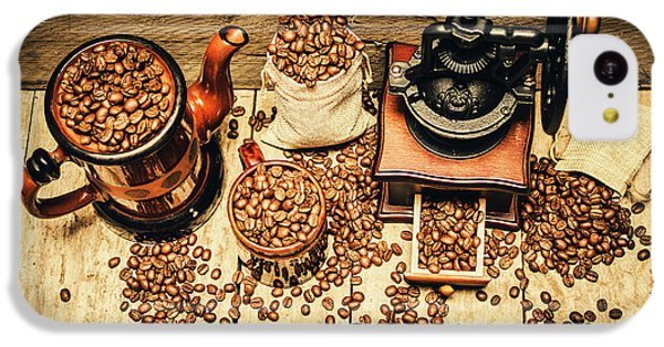 Retro Coffee Bean Mill IPhone 5c Case by Jorgo Photography - Wall Art Gallery