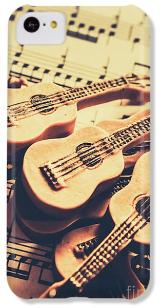 Musical iPhone 5c Case - Retro Folk And Blues by Jorgo Photography - Wall Art Gallery