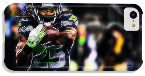 Richard Sherman Collection IPhone 5c Case by Marvin Blaine