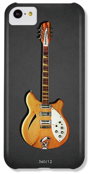 Guitar iPhone 5c Case - Rickenbacker 360 12 1964 by Mark Rogan
