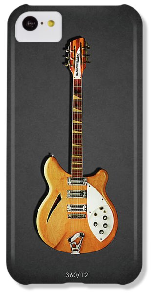 Jazz iPhone 5c Case - Rickenbacker 360 12 1964 by Mark Rogan