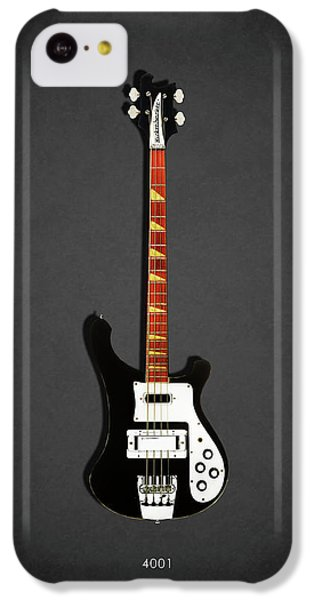 Guitar iPhone 5c Case - Rickenbacker 4001 1979 by Mark Rogan